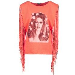 tekstylia Damskie Topy na ramiączkach / T-shirty bez rękawów Brigitte Bardot BB44075 Koral