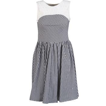 tekstylia Damskie Sukienki krótkie Brigitte Bardot BB44021 Czarny