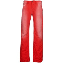 tekstylia Męskie Jeansy straight leg Diesel SAFADO Czerwony