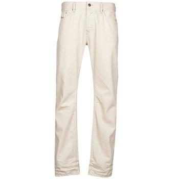 tekstylia Męskie Jeansy straight leg Diesel WAYKEE Biały