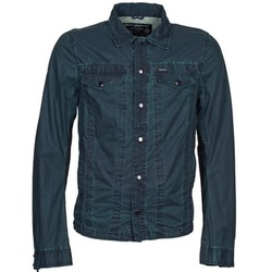 tekstylia Męskie Kurtki jeansowe Diesel J-XOCHILL MARINE
