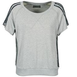 tekstylia Damskie T-shirty z krótkim rękawem Religion B114HRW02 Szary