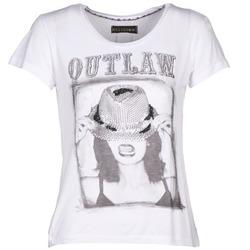 tekstylia Damskie T-shirty z krótkim rękawem Religion B123OLT45 Biały