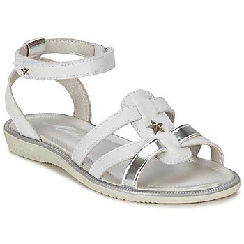 Buty Dziewczynka Sandały Mod'8 HOPAL Biały