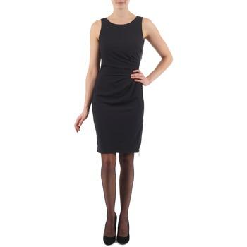tekstylia Damskie Sukienki krótkie Esprit BEVERLY CREPE Czarny
