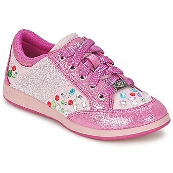 Buty Dziewczynka Trampki niskie Lelli Kelly GLITTER-ROSE-CALIFORNIA Różowy