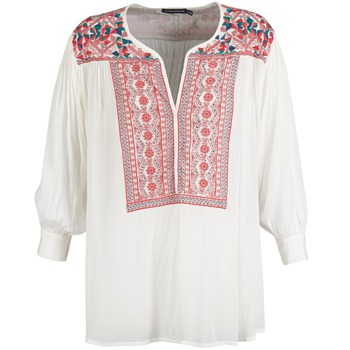 tekstylia Damskie Topy / Bluzki Antik Batik CAREYES Biały