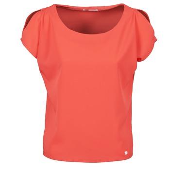 tekstylia Damskie T-shirty z krótkim rękawem Les P'tites Bombes S145003 Czerwony