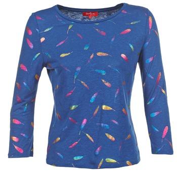 tekstylia Damskie T-shirty z długim rękawem Derhy GALOPIN Marine
