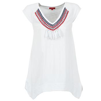 tekstylia Damskie T-shirty z krótkim rękawem Derhy GALION Biały
