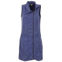 tekstylia Damskie Sukienki krótkie Bench EASY Niebieski