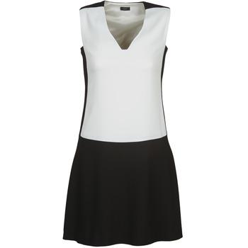 tekstylia Damskie Sukienki krótkie Joseph DORIA Czarny / Biały