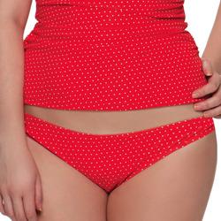 tekstylia Damskie Bikini: góry lub doły osobno Curvy Kate CS2705 FLAME SPOT Czerwony