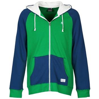 tekstylia Męskie Bluzy Nixon ANCHOR Niebieski / Zielony