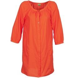 tekstylia Damskie Sukienki krótkie Bensimon FOURTY Pomarańczowy