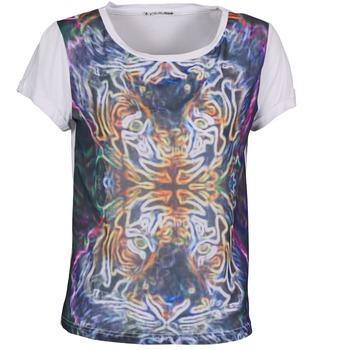 tekstylia Damskie T-shirty z krótkim rękawem DDP PORIX Wielokolorowy