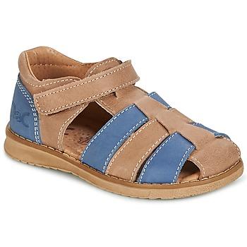 Buty Chłopiec Sandały Citrouille et Compagnie FRINOUI Brązowy / Niebieski