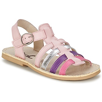 Buty Dziewczynka Sandały Citrouille et Compagnie JASMA Różowy / Fioletowy