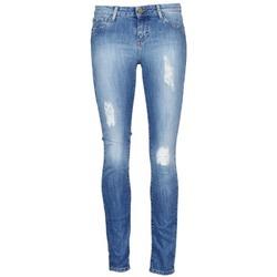 tekstylia Damskie Krótkie spodnie Acquaverde SCARLETT Niebieski