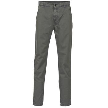 tekstylia Męskie Spodnie z pięcioma kieszeniami Benetton GUATUIE Szary