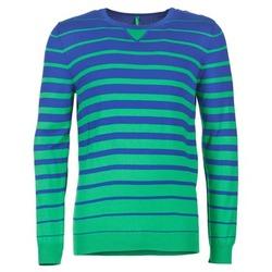 tekstylia Męskie Swetry Benetton FODIME MARINE / Zielony