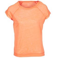 tekstylia Damskie T-shirty z krótkim rękawem Majestic 2105 Pomarańczowy / Fluo