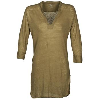 tekstylia Damskie Tuniki Majestic 530 Kaki