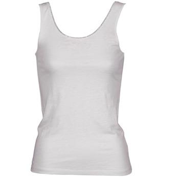 tekstylia Damskie Topy na ramiączkach / T-shirty bez rękawów Majestic 701 Biały