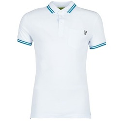 tekstylia Męskie Koszulki polo z krótkim rękawem Versace Jeans WINGS Biały