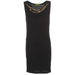 tekstylia Damskie Sukienki krótkie Versace Jeans NDM931 Czarny