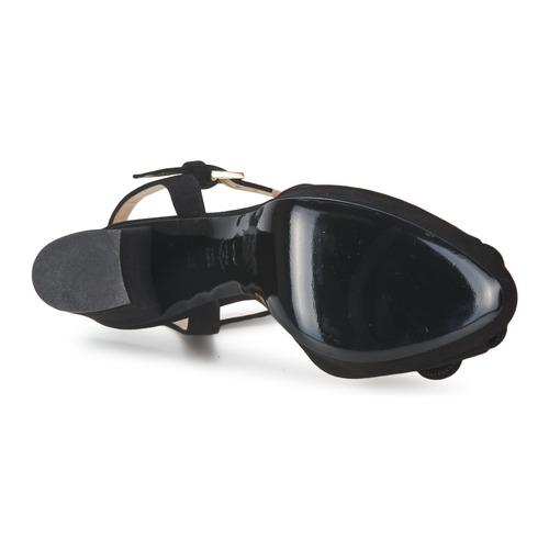 Moschino Cheap & Chic Ca1617 Czarny - Bezpłatna Dostawa- Buty Sandały Damskie 1 02950 Najniższa Cena