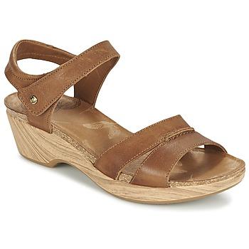 Buty Damskie Sandały Panama Jack LARISA Brązowy