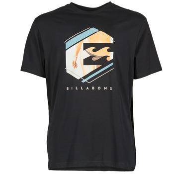 tekstylia Męskie T-shirty z krótkim rękawem Billabong HEXAG SS Czarny