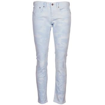 tekstylia Damskie Spodnie z pięcioma kieszeniami Roxy SUNTRIPPERS TIE-DYE Niebieski