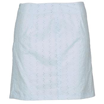 tekstylia Damskie Spódnice La City JUPEGUI Niebieski