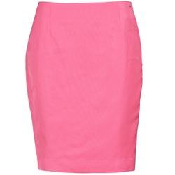 tekstylia Damskie Spódnice La City JUPE2D6 Różowy