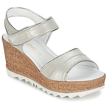 Buty Damskie Sandały Samoa MOJILA Szary / Biały