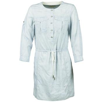 tekstylia Damskie Sukienki krótkie Aigle MILITANY Niebieski