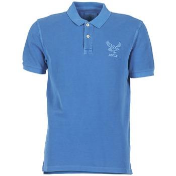 tekstylia Męskie Koszulki polo z krótkim rękawem Aigle BELAQUA Niebieski