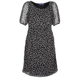 tekstylia Damskie Sukienki krótkie Mexx 13LW130 Czarny / Biały