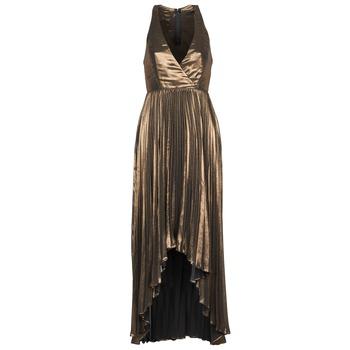 tekstylia Damskie Sukienki długie Manoukian 612556 Złoty
