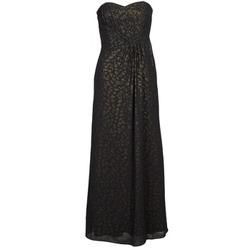 tekstylia Damskie Sukienki długie Manoukian 612930 Czarny / Złoty
