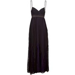 tekstylia Damskie Sukienki długie Manoukian 612933 Czarny