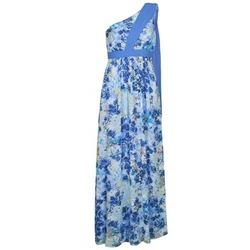 tekstylia Damskie Sukienki długie Manoukian 613356 Niebieski