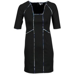 tekstylia Damskie Sukienki krótkie Manoukian 613369 Czarny