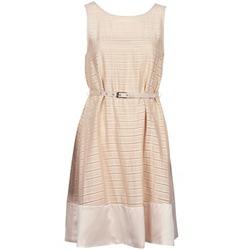 tekstylia Damskie Sukienki krótkie Manoukian 613374 Beżowy