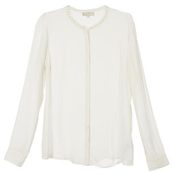 tekstylia Damskie Koszule Cream PANSY Ecru