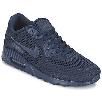 Buty Męskie Trampki niskie Nike AIR MAX 90 ULTRA BREATHE Niebieski