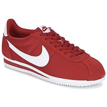 Buty Męskie Trampki niskie Nike CLASSIC CORTEZ NYLON Czerwony