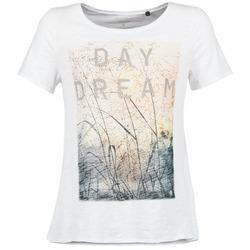 tekstylia Damskie T-shirty z krótkim rękawem Marc O'Polo MOFRAGO Biały